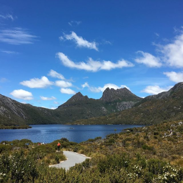 Cradle Mountain in all its glory yesterday nofilter