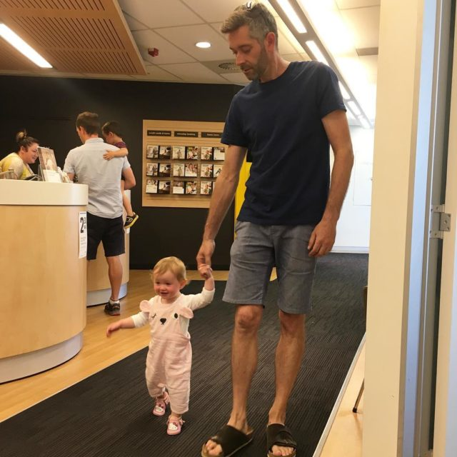 Doing the business banking with Daddy
