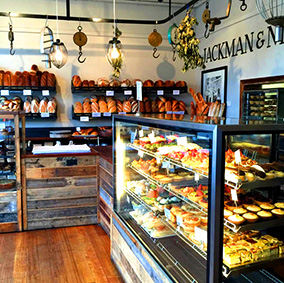In the area - Jackman & McRoss bakery cafe