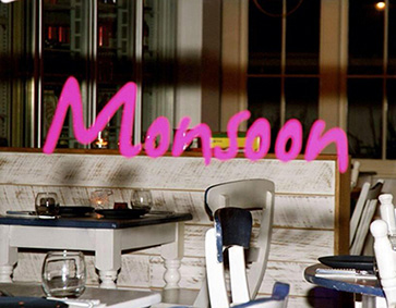 In the area - Monsoon Thai fusion restaurant