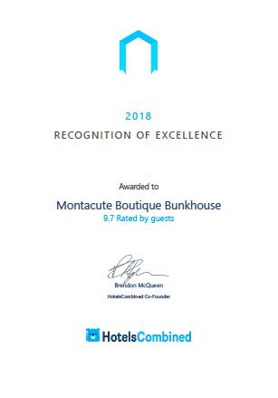 HotelsCombined Award 2018