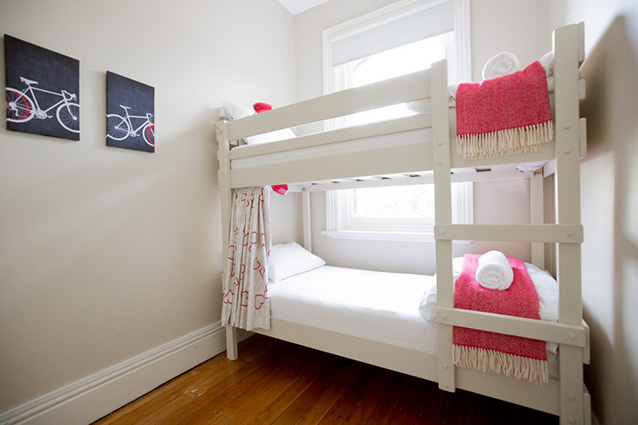 Private 2-bed bunk rooms