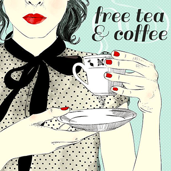 Free tea & coffee