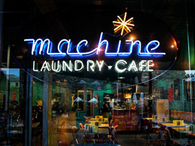 Machine - cafe & laundromat